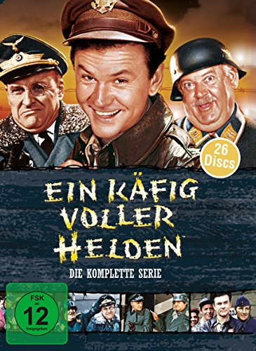 Ein Käfig voller Helden - Die komplette Serie [26 DVDs] (William Powell Filme)