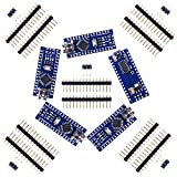 Kuman 5 x Mini Nano V3.0 ATmega328P 5V 16M Micro Controller Board Module pour Arduino KY64-5