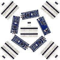 Kuman Juego de 5pcs Tarjeta Mini Nano V3.0 ATmega328P 5V 16M Micro Controlador Board Módulo para Arduino KY64-5
