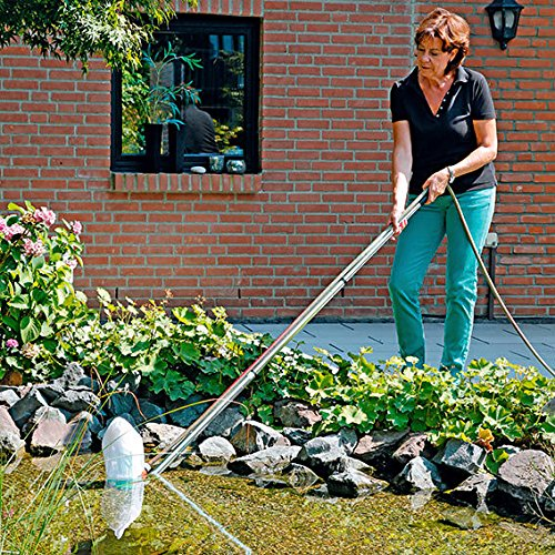 Gartenteichsauger Komplett-Set, 7-teilig