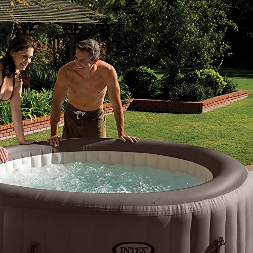 Intex Whirlpool Pure SPA 77″ Jet Massage,, Braun, Ø 196 x 71cm