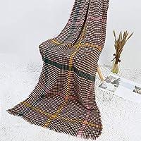 Pasabideak 1PCS Echarpe Longue chaude pour Enfants Fashion( Café 200cm * 80cm