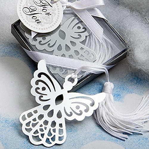 ROSENICE Liebhaber Sammlung Engel Lesezeichen Hochzeit mit weißer Quaste, Pack 6 (Engel Sammlung)