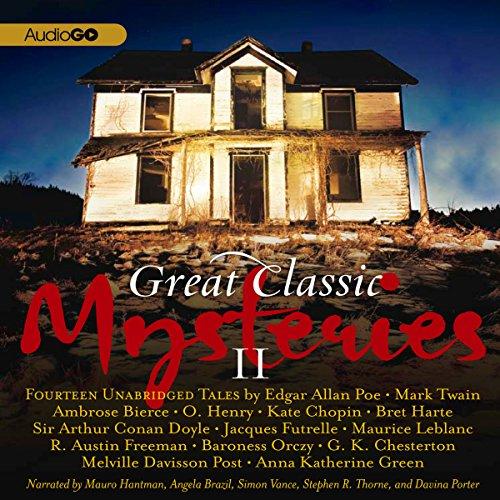 Great Classic Mysteries II  Audiolibri