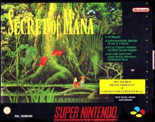 Secret of Mana (Inkl. Nintendo Spieleberater) SNES