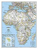 Africa Classic, Enlarged &, Laminated: Wall Maps Continents:...