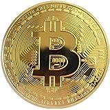 Gouden/zilveren Bitcoin-munt Brons Fysieke Bitcoins-munten Collectible BTC-munt Gouden gouden