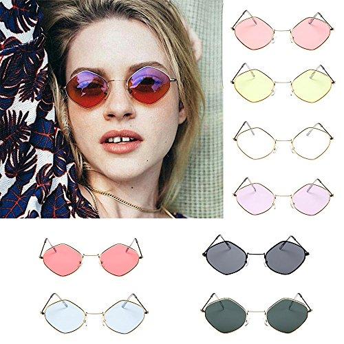 118159483f5 Clearance Sale!OverDose Unisex Women Mens Ins Hot Retro Sunglasses Metal  Frame Shades Eyewear(