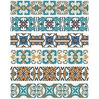 HHYS DIY Steps Sticker Extraíble Escalera Sticker Home Decor Ceramic Tiles Patterns
