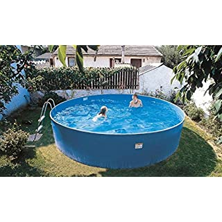 Zizy Pools Amazing Above Ground Steel Free-Standing Swimming Pool - Lagoon (12 x 3ft)