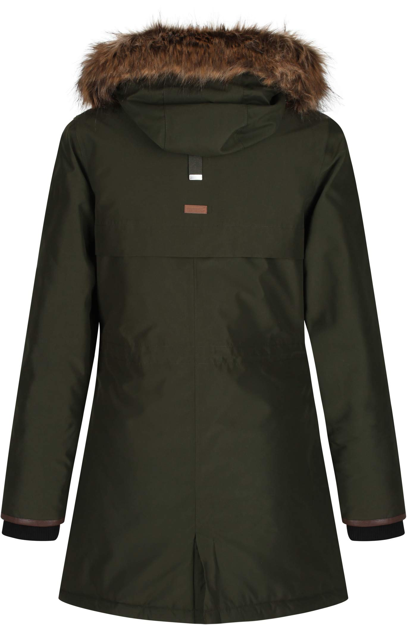 Regatta Women's Safiyya Waterproof & Breathable Down-touch Insulated Faux Fur Hooded Winter Jacket