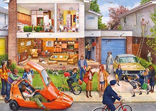 Gibsons Memory Lane Our House 1970er Puzzle (1000Teile) Preisvergleich
