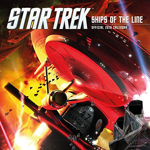 The Official Star Trek 2016 Square Calendar (Calendar 2016)