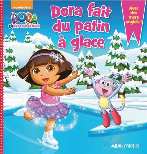 Dora fait du patin à glace