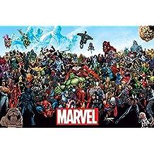 Marvel «Univers» Maxi poster, Multicolore