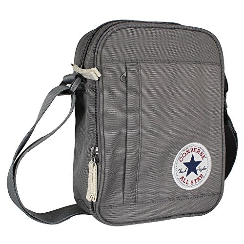 Converse Borsa a tracolla All Star Core, Unisex, Umhängetasche Core Poly Cross Body, Converse Charcoal, Unisex