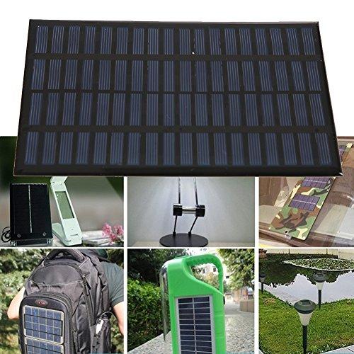 Balai 1 Stück 2.5W 18V Solarpanel Polykristallin Solar Power Panel-Solar System DIY - 2