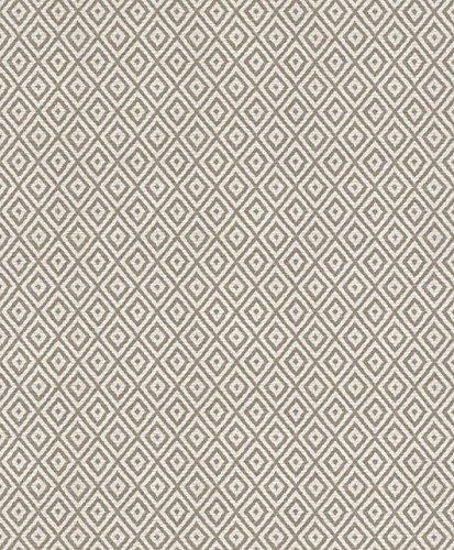 Rasch Vlies Tapete - Größe: 0,53 x 10,05 m - Farbe: natur/erdtöne - Stil: Muster & Motive (grafisch) -