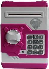 Tabu Money Safe Kids Piggy Savings Bank with Electronic Lock (Pink)