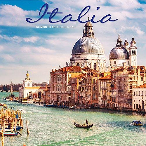 Italia - Italien 2019 - 16-Monatskalender: Original Graphique de France-Kalender