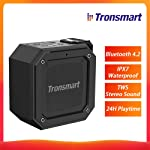 Tronsmart Element Groove Bluetooth 4.2 Portable Speaker IPX7 Waterproof TWS Stereo Sound Wireless Speaker 24H Playtime...