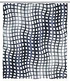 Wenko Schimmel Duschvorhang Studio Anti-Bakteriell, waschbar, mit 12 Duschvorhangringen, Polyester, Mehrfarbig, 180 x 200 x 0.1 cm