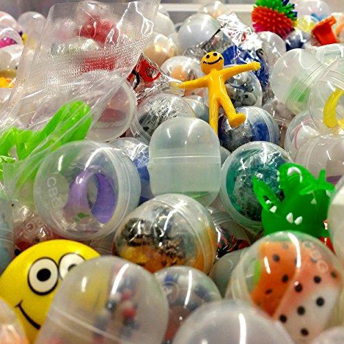 German Trendseller® - 16 x Capsules Surprise Avec jouet à l'intérieur? Party Loot ? enfants ? mélange coloré ? Party 4251204204312