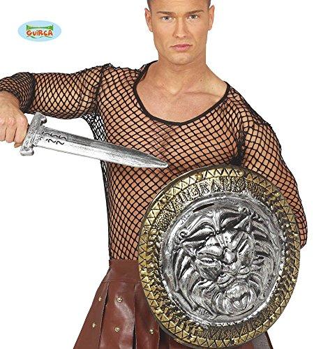 Guirca antikes Schwert mit Schild für Herren Karneval Fasching Römer Gladiator Rom Soldat
