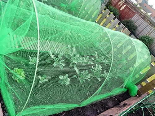 Easynets Cloche Flexible XL Jardin Cloche 8m Green