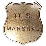 Placa US Mariscal- Estrella de Sheriff