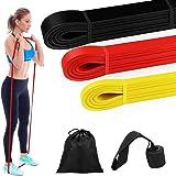 Bandes Elastiques Musculation - Bande de Résistance Set, Fitness Elastiques Kit, pour Musculation, Ancre de Porte…