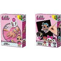 SES Creative - L.O.L. Bracelets à Charms & L.O.L. Surprise à gratter
