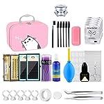 Lash Kit, Missicee 22pcs Eyelash Extensions Training Kit MakeUp False Eyelashes Extension Tool for Makeup Practice Eye...