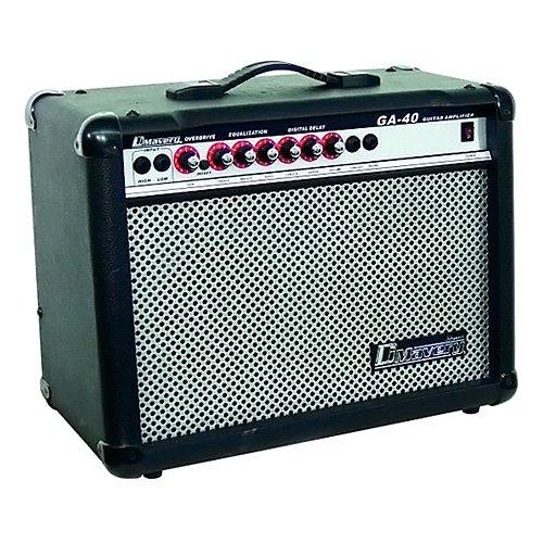 DIMAVERY 26360140 GA 40R GUITARRA ELECTRICA DEL AMPLIFICADOR (40 VATIOS)