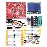 KKmoon, M328, Tester per transistor, Transistor multifunzionale, misurazione della resistenza, capacità diodo, misura delle frequenze, generatore di segnale