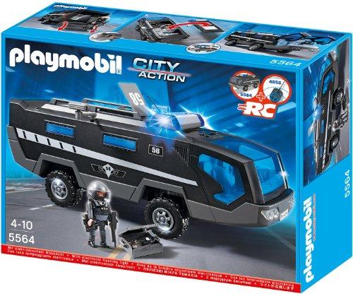 Preisvergleich Produktbild Playmobil 5564 - SEK-Einsatztruck mit Licht und Sound