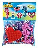 Hama 4412 - Packung für Spielgruppen, ca. 3000 Bügelperlen, 4 Stiftplatten und Zubehör