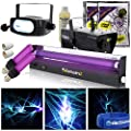 beamz Halloween Party In A Box UV Glow Disco DJ Lighting + Fog Machine + Strobe + Prop
