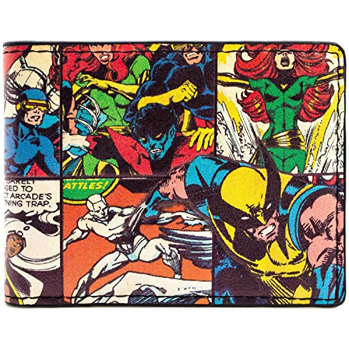 X-Men Wolverine Beast Sturm Comicstil Schwarz Portemonnaie (Wolverine Kostüme Von Bilder)