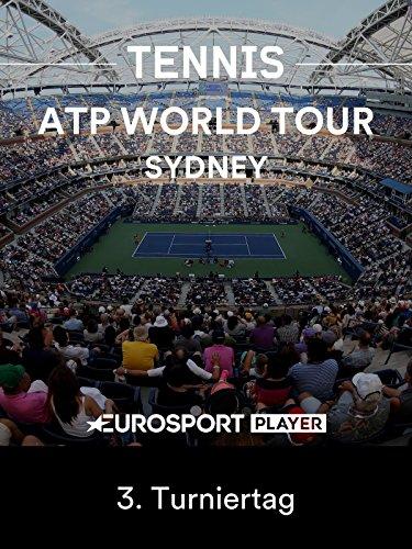 Tennis: ATP World Tour in Sydney (AUS) - 3. Turniertag