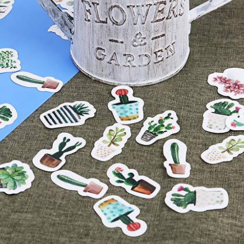 JingHai 45 Teile/Satz Cultured Green Pflanzen Label Aufkleber Dekorative Schreibwaren Aufkleber Scrapbooking DIY Tagebuch Album Stick Label
