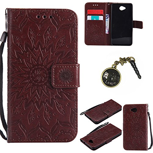 Preisvergleich Produktbild PU Silikon Schutzhülle Handyhülle Painted pc case cover hülle Handy-Fall-Haut Shell Abdeckungen für Nokia lumia 650 N650 +Staubstecker (8GG)