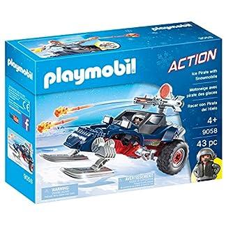 PLAYMOBIL- Racer con Pirata del Hielo, única (9058)