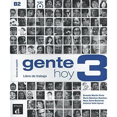 Gente hoy 3 B2 : Libro de trabajo (1CD audio)