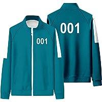 FYUI Squid Game Cosplay Sportbekleidung - Freizeitanzug 001 067 Damenmantel 240 Zipper Trainingsanzüge 218 456…