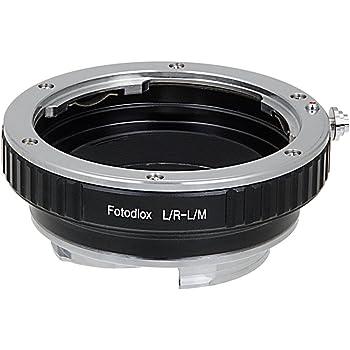 Fotodiox Anello Adattatore per Leica R Obiettivo a Fotocamera Leica M, si adatta a Leica M3, Leica M-Monochrome, M8.2, M9, M9-P, M10 e Ricoh GXR Mount
