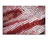 Wandbild 120x80cm Künstlerische Fotografie – Dachziegel in der Sonne auf Leinwand für Wohnzimmer, Büro, Schlafzimmer, Ferienwohnung u.v.m. Gestochen scharf in Top Qualität