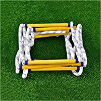 WYX Outdoor Rope Ladder Fire Rope Ladder Resin Escape Ladder Anti-skid Ladder High-altitude Safety Climbing Ladder Rescue Flame Retardant Ladder Ladder