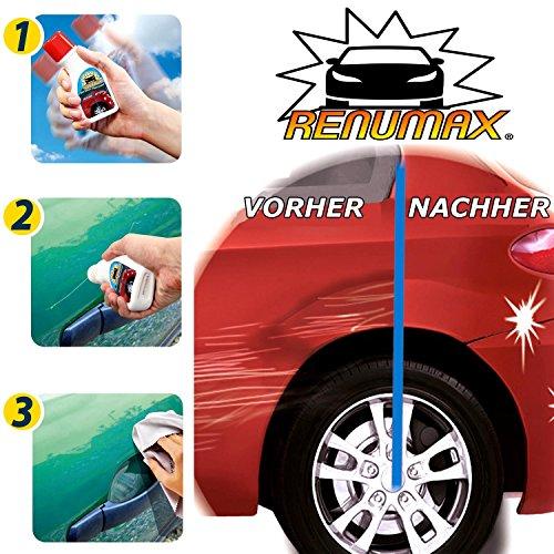RENUMAX Kratzer-Entferner, 100ml Auto Lackkratzer Politur Lackstift Polierpaste - Das TV Original