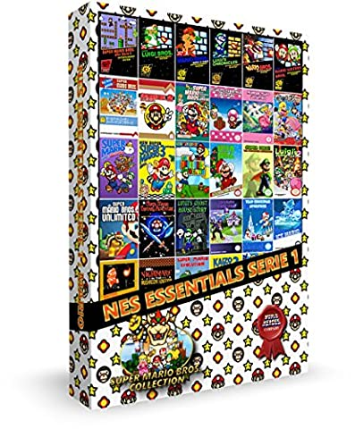 Cartouche pour console NES Essentials Serie 1 : Super Mario Collection (4 sauvegardes simultanées)